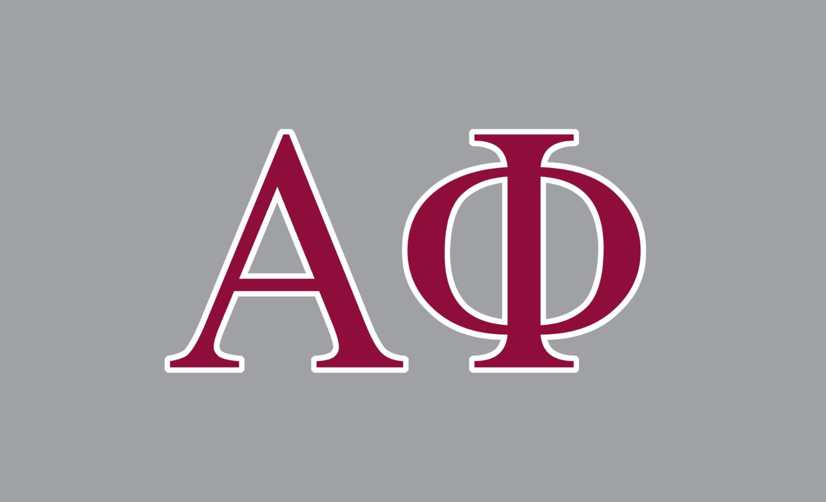 Alpha Phi Greek Letters 3' x 5' Flag