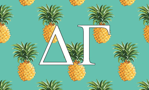 Delta Gamma Pineapple 3' x 5' Flag
