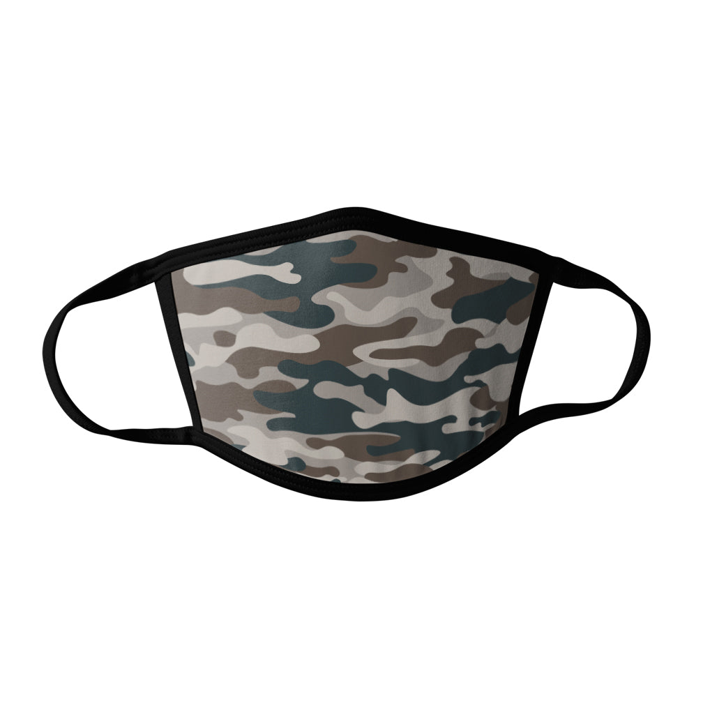 Pro-Graphx Modern Camo Face Mask - Made in USA 100% Polyester Washable Reusable Unisex Fashion Facemask Comfortable - Adult