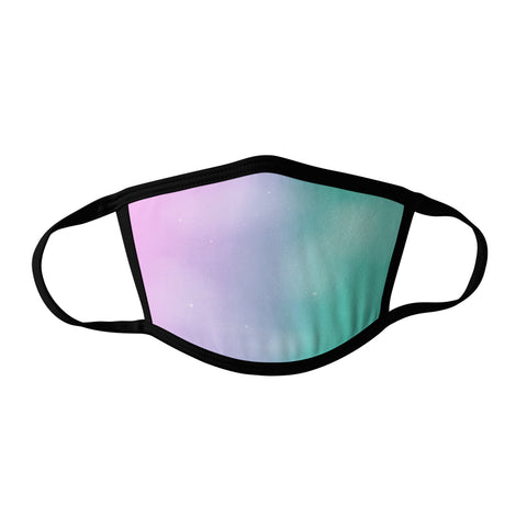 Pro-Graphx Pastel Sky Face Mask - Made in USA 100% Polyester Washable Reusable Unisex Fashion Facemask Comfortable - Adult