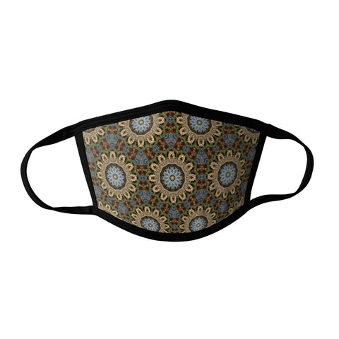 Pro-Graphx Steampunk Pattern Face Mask - Made in USA 100% Polyester Washable Reusable Unisex Fashion Facemask Comfortable - Adult