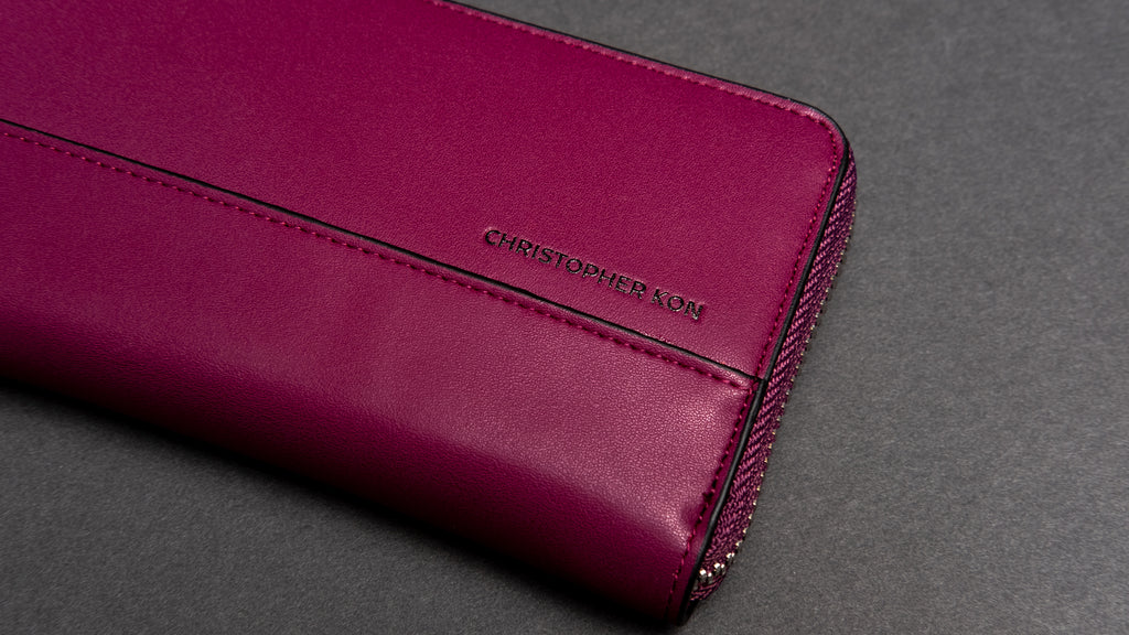 Tati Simple wallet - Grape