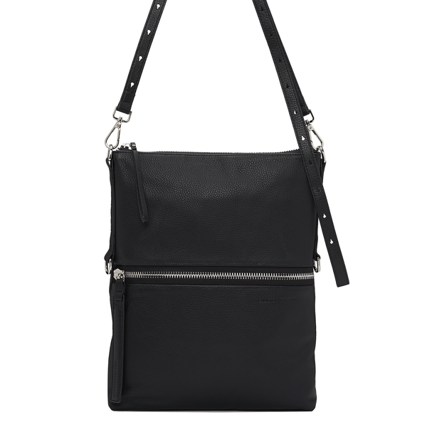 SLOAN FOLDOVER CROSSBODY - BLACK