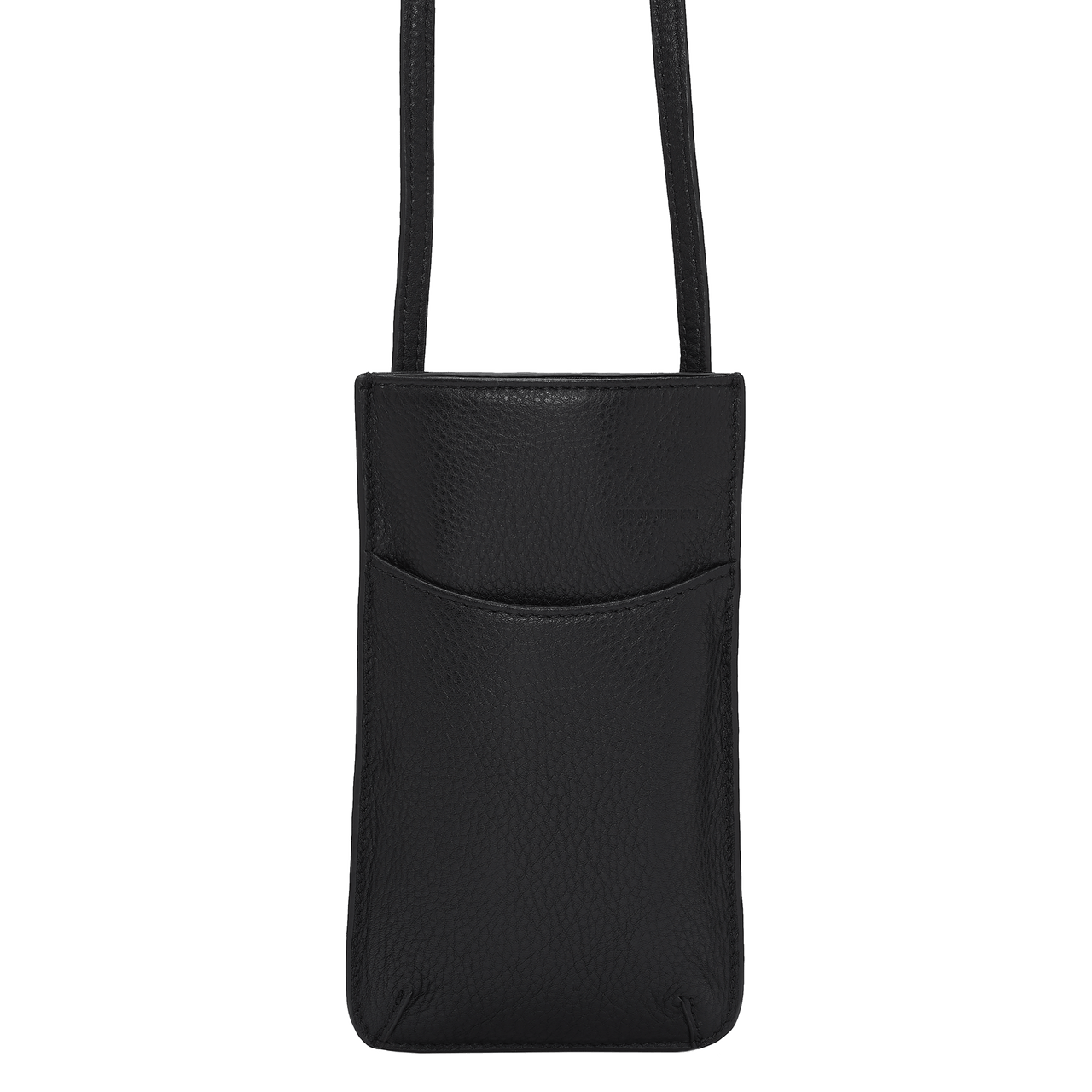 DARBY PHONE SLIP CROSSBODY - BLACK