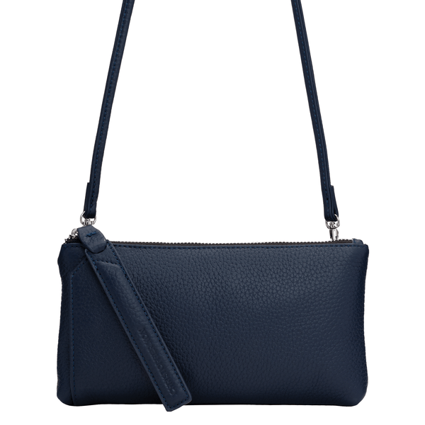 KIRA WALLET CROSSBODY CLUTCH - NAVY