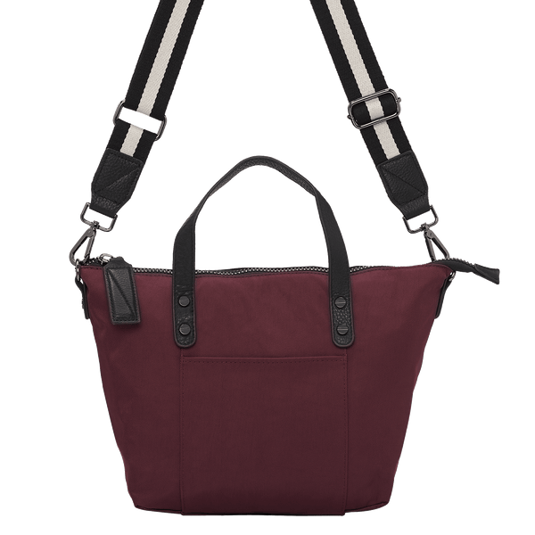 BEXLEY SMALL NYLON CARRYALL - WINE