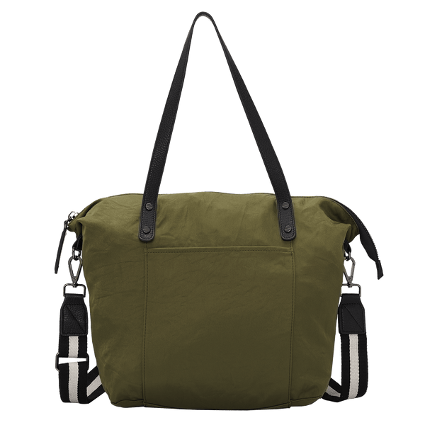 KINSLEY LARGE NYLON CARRYALL - KHAKI