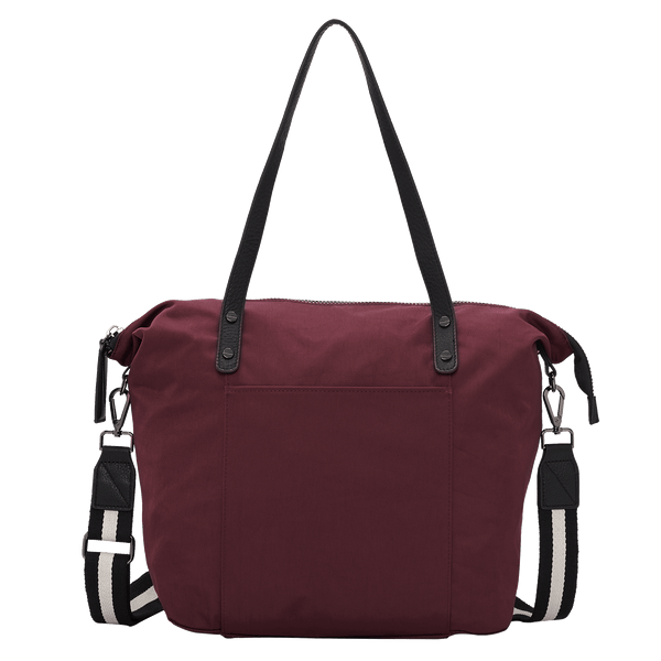 KINSLEY LARGE NYLON CARRYALL - WINE