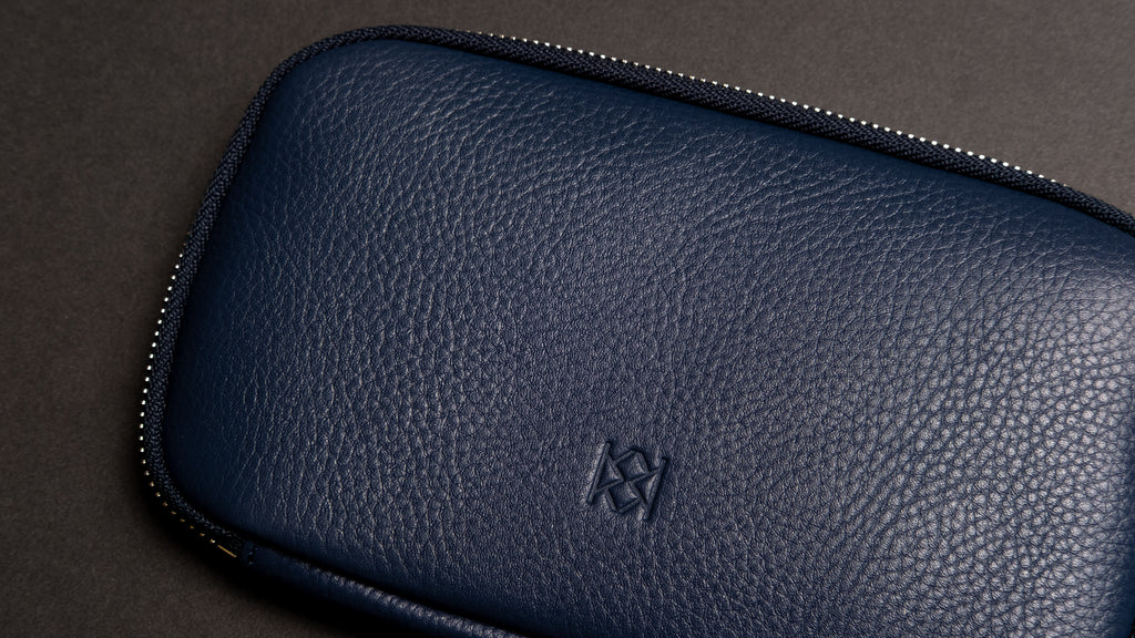Madison Wallet - Denim Blue