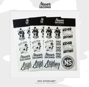 Vinyl A4 Sticker Sheets - Restock soon