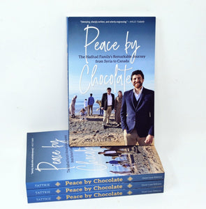 Peace by Chocolate Book Is Released!