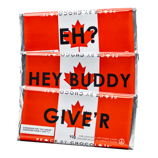 Canada Peace Bar 3-Pack