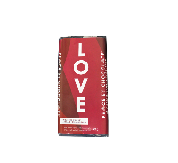 Valentine Love Bar English (92g)