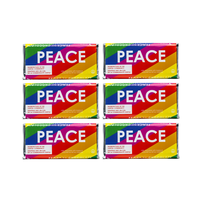 Pride Flag Bar (50 g) 6 Pack