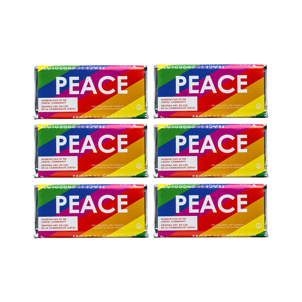 Rainbow Pride Flag Bar (50 g) 6 Pack