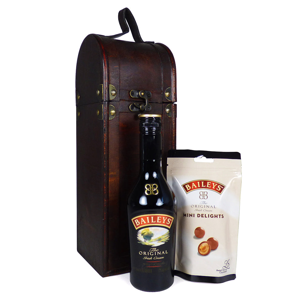 Valentine's Day Gift Idea: Baileys Lovers Gift Hamper Presented in a Unique Design Bottle Carrier