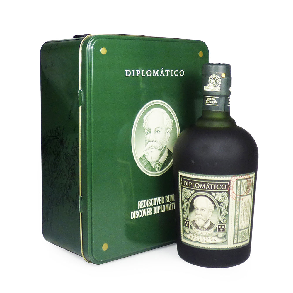 70cl Diplomatico Reserva Exclusiva Rum Suitcase Gift Set