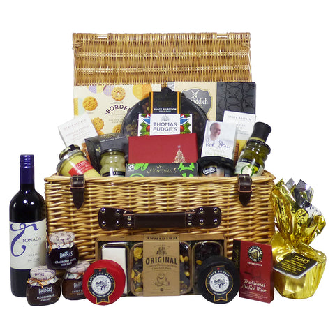 The Delicious Delights Gourmet Food and Wine Gift Hamper
