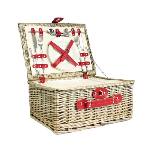 Retro Red Chiller Picnic Basket