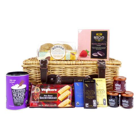 Sweet Treats Wicker Food Hamper