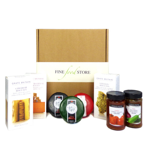 Three Cheese Board Gift Hamper