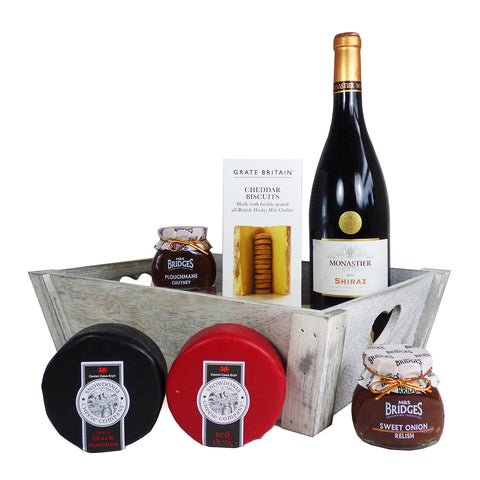 'A Cosy Night In' Wine and Cheese Hamper