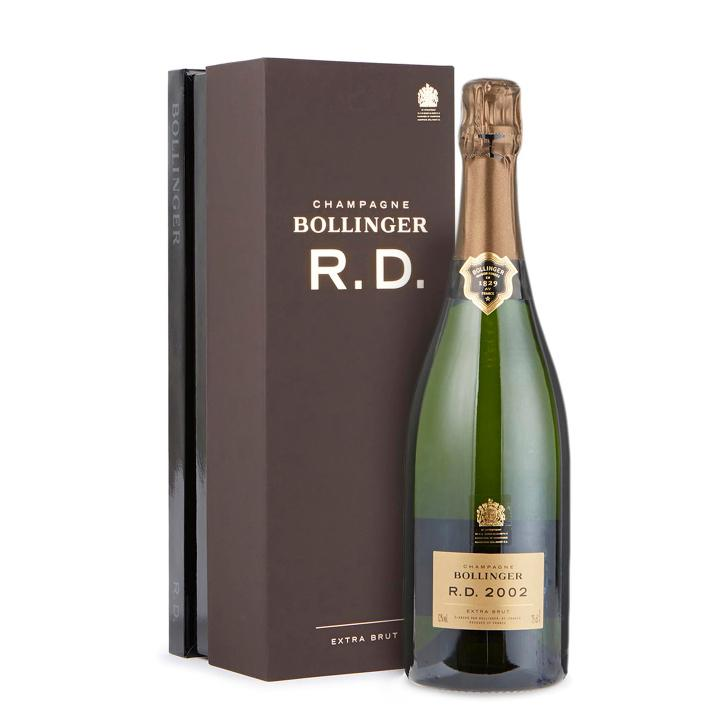 75cl Bollinger R.D 2002 Champagne Presented in a Bollinger Gift Box