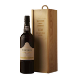 Graham's Port & Engraved Wooden Gift Box