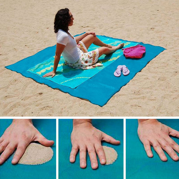 Anti-sand beach towel XXL 200 x 150 cm