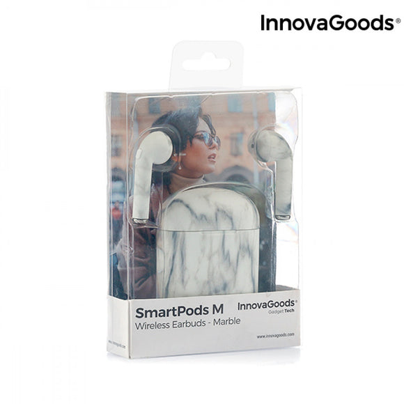 Wireless Headphones Smartpods M Marble InnovaGoods