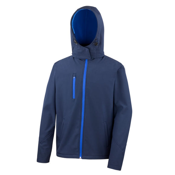 Result Performance Hooded Soft Shell Jacket