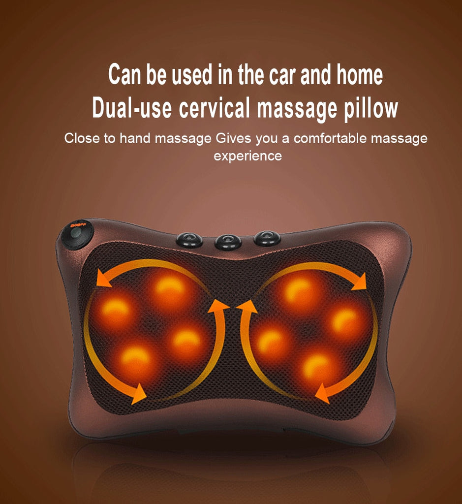 Multi-functional Massage Pillow Electric Infrared
