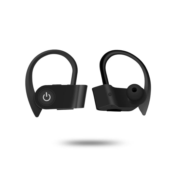 Wireless Sports Earphones with Mic  HD Stereo Sweatproof in Ear Earbuds