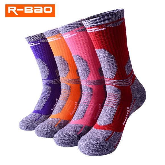 Thermal Sports Socks Moisture Absorption Climbing Skiing Anti-Slip