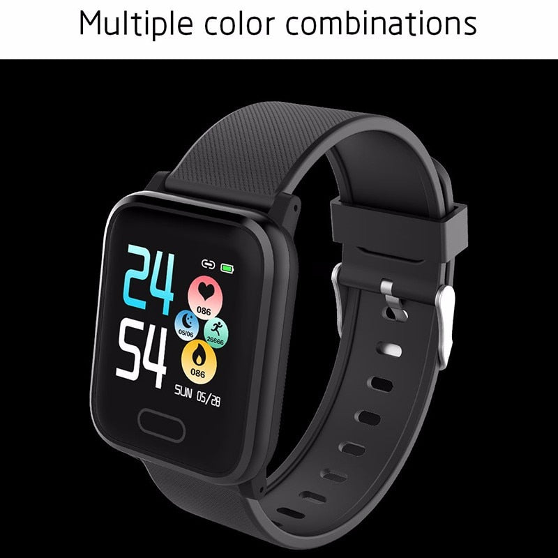 Heart Rate Monitor Fitness Tracker Bluetooth Waterproof