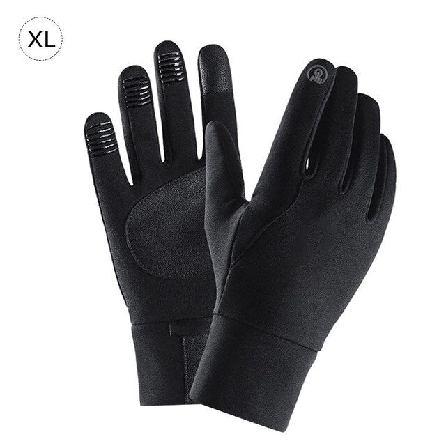 Windproof Thermal Touchscreen Gloves Men Women Antiskid