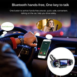 Wireless Bluetooth Handsfree Calling USB Car Charger FM Transmitter