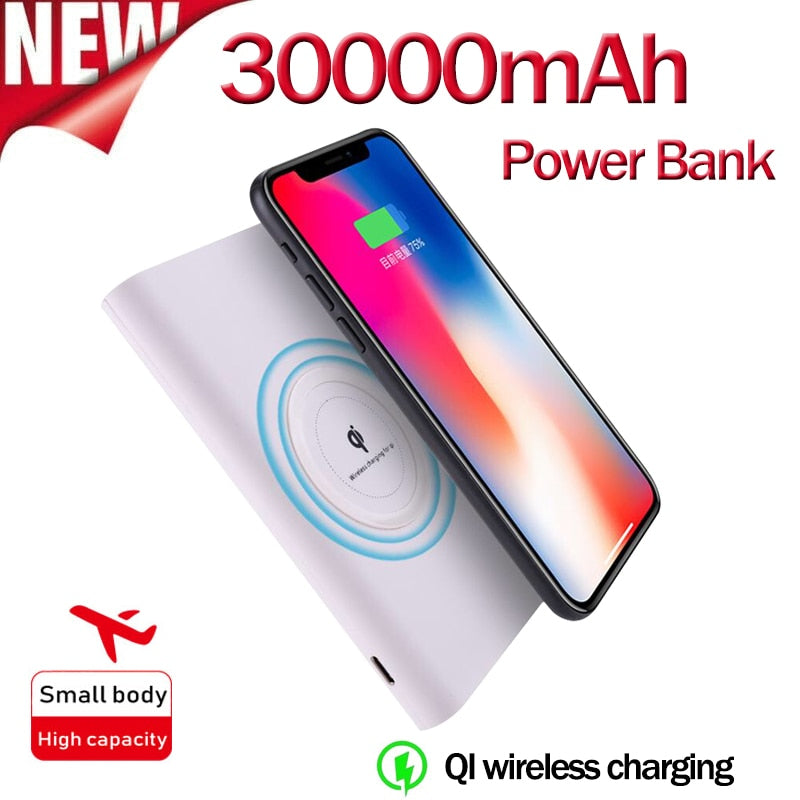 External Battery Portable Charger for Samsung IPhone 8/X/Plus Galaxy and More