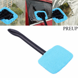 Microfiber Auto Window Cleaner Long Handle