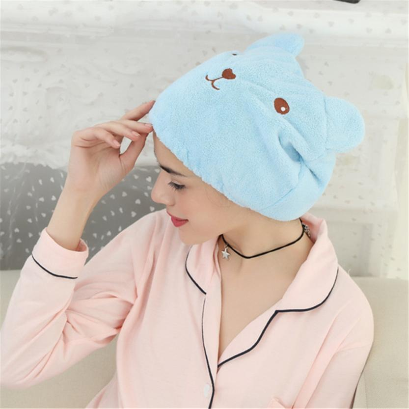 Microfiber Hair Turban Womens Girls Lady's Magic Quickly Dry Hair