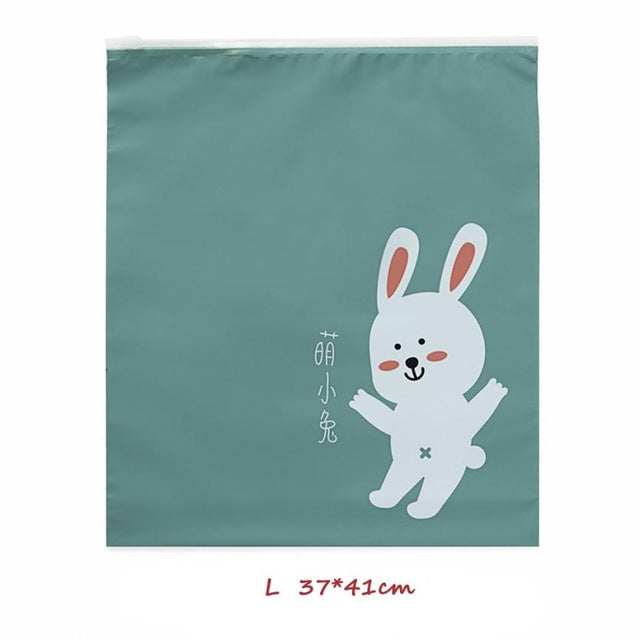 Travel Portable Miscellaneous Storage Bags Cartoon