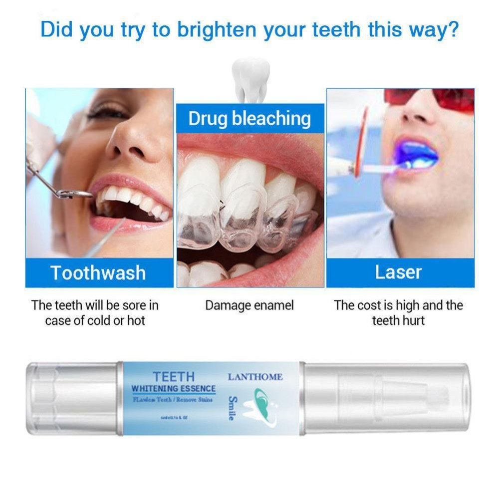 Teeth Whitening Pen Tooth Diamond Gel Bleach Dental Plaque