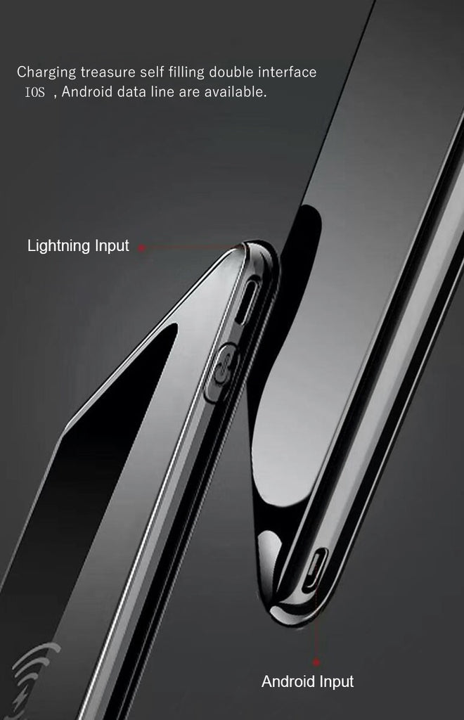 Portable LED Digital Display Power Bank 5V 2A Fast Dual Charging