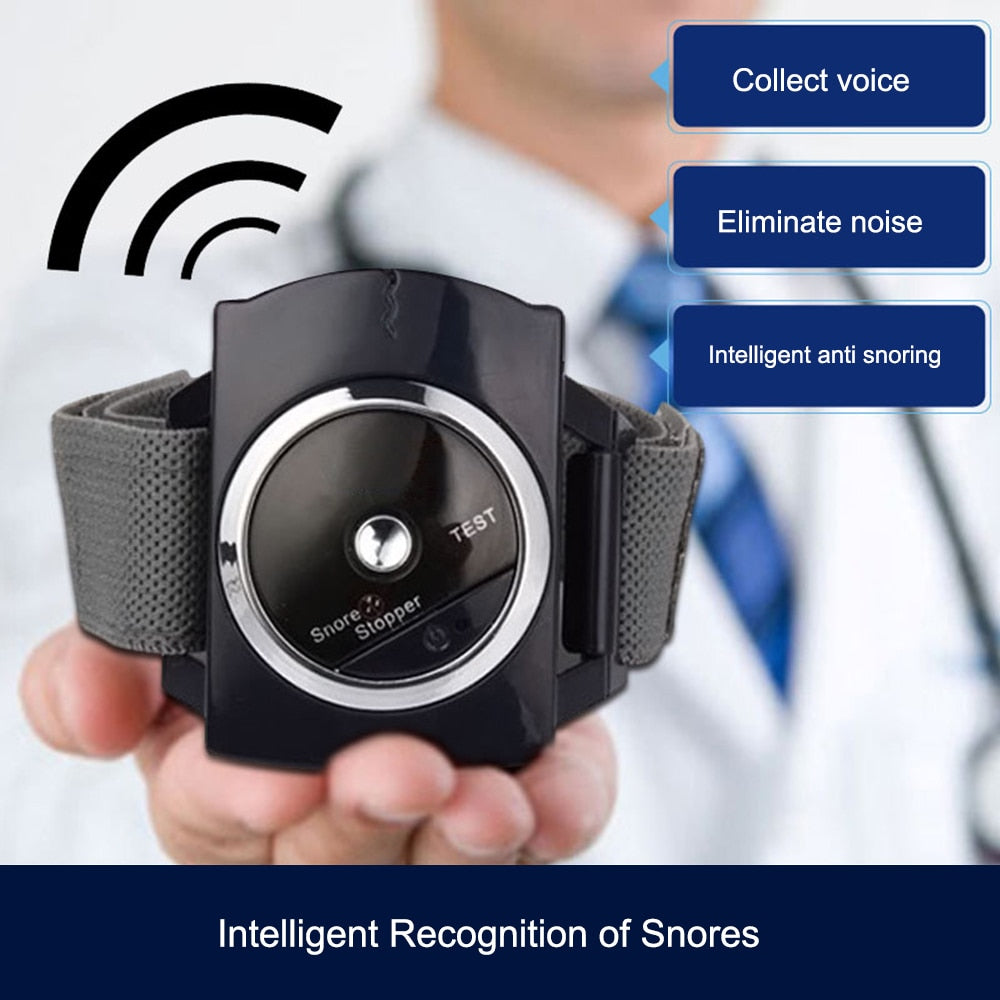Intelligent Snore Stopper Biosensor Anti Snoring Device