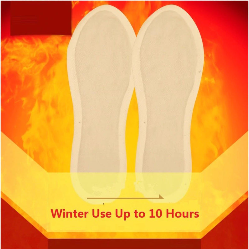 Foot Heating Insoles to Keep Warm in winter Thermal Foot