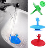 Washroom Hand Shape Sink Plug