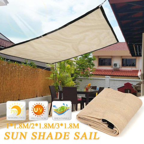 Yard Sun Shelter Garden Patio Awning Canopy Sunscreen Anti-UV