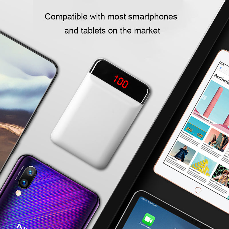 Portable Charger batterie externa Powerbank For Xiaomi iPhone Poverbank