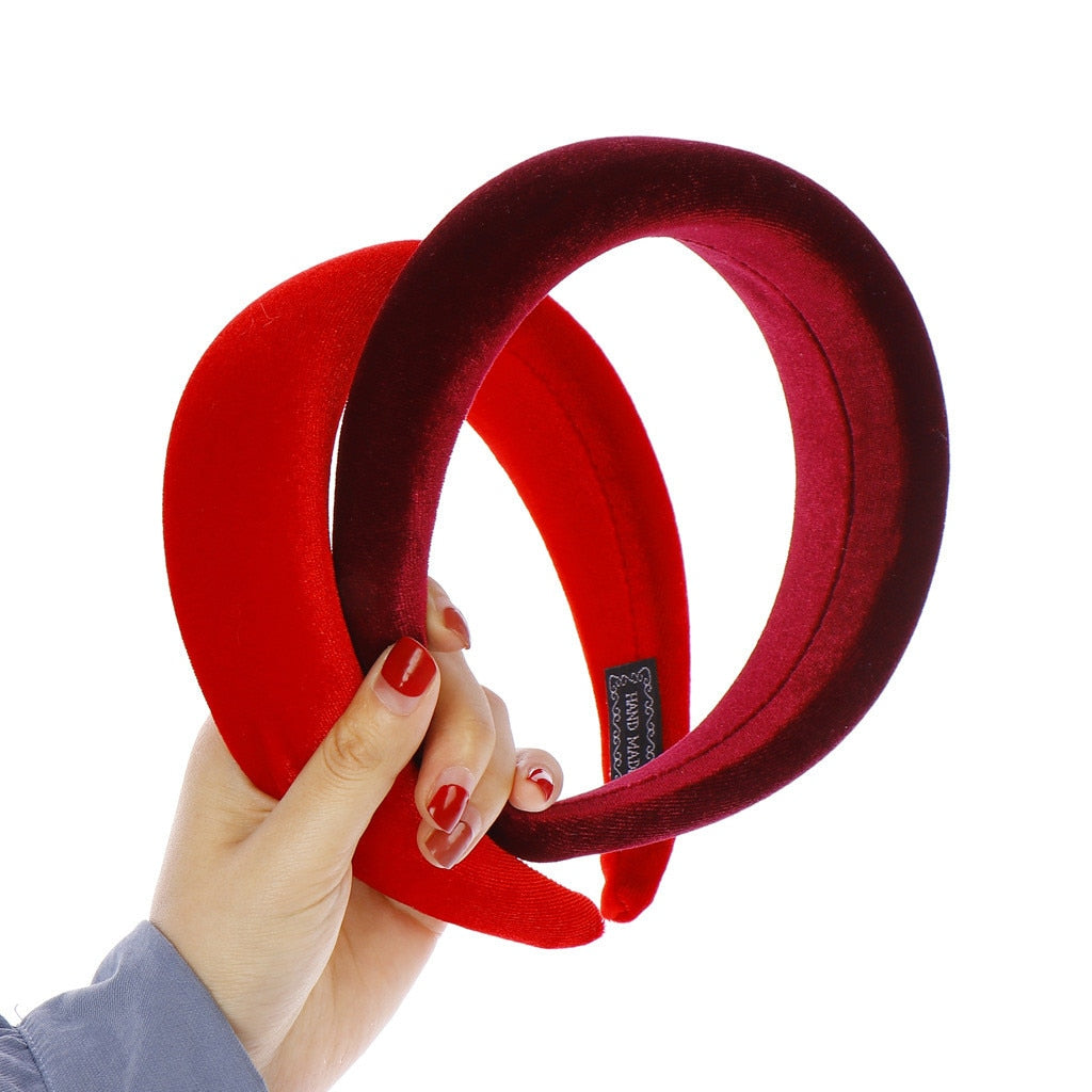Velvet Hairband  For Women Girls