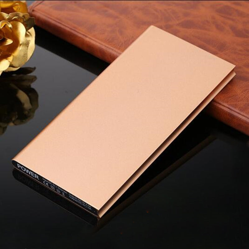 20000mAh Portable Ultra-thin Polymer Powerbank Dual USB